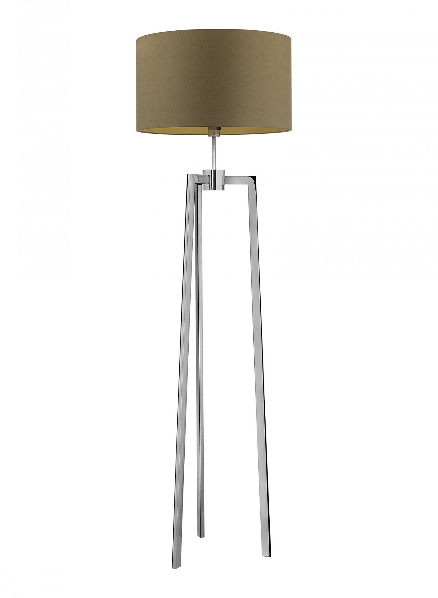 Picture of: Trianon Chrome Floor Lamp