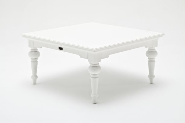 Provence White Painted Square Coffee Table